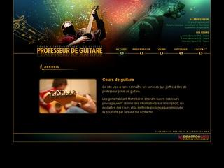 professeur guitare